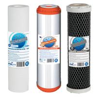 Комплект картриджів Aquafilter 3 ступені