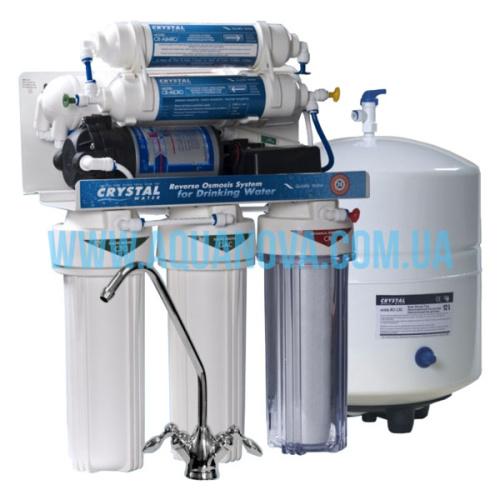 Фильтр осмос Crystal CFRO-550MP с минерализатором и помпой