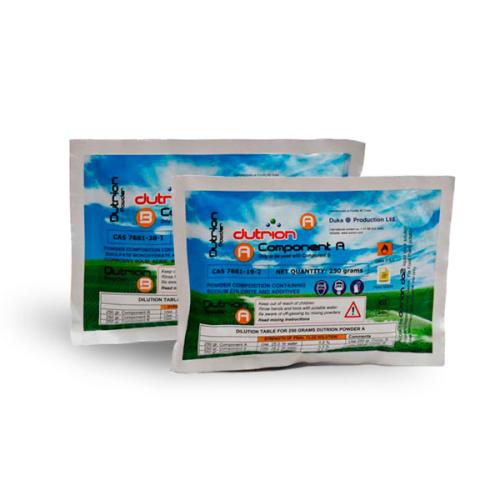 Диоксид хлора порошок Dutrion 500 грамм (комп. A+B)