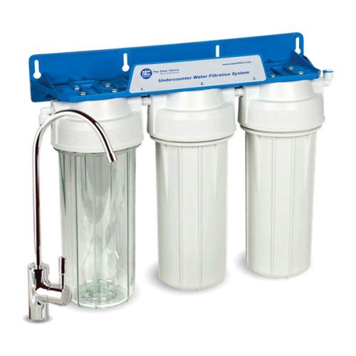 Aquafilter FP3-K1 проточный трехступенчатый фильтр