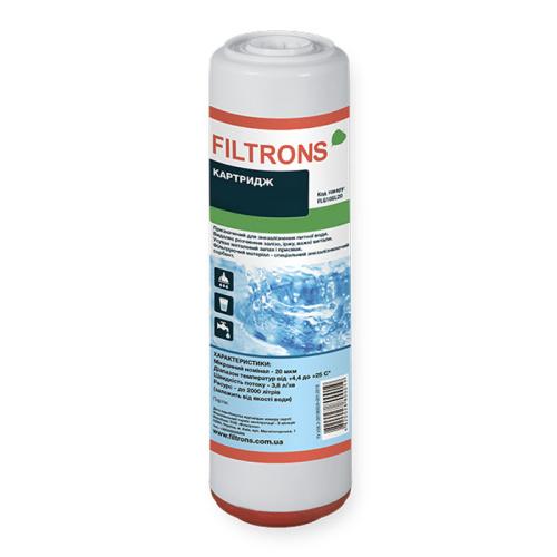 Filtrons FLGACP10SL20P гранулированный угольный картридж