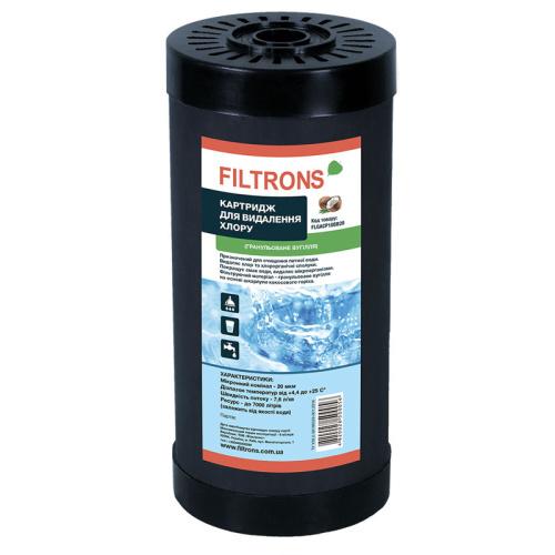 Filtrons FLGACP10BB20 угольный картридж гранулированный