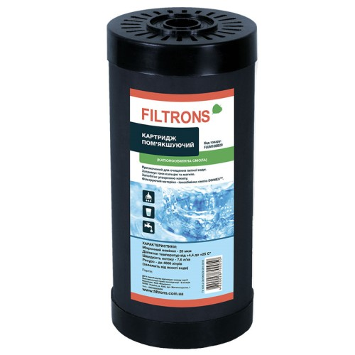 Filtrons FLUM10BB20 умягчающий картридж