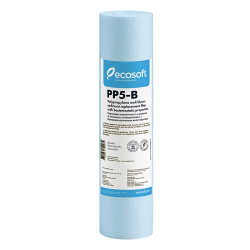 Ecosoft CPV25105BECO полипропиленовый картридж 5 мкм (бактериостатический)