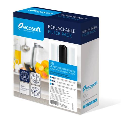 Набор картриджей Ecosoft 1-2-3 для обратного осмоса
