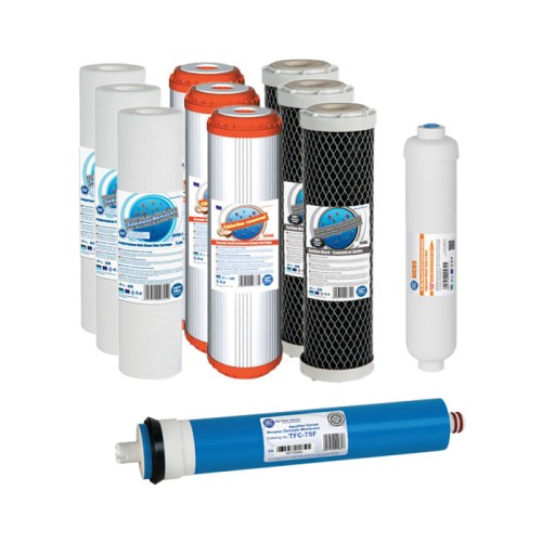 Годовой комплект картриджей Aquafilter для обратного осмоса