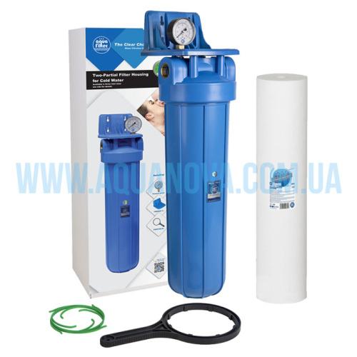 """Механический фильтр Aquafilter Big Blue 20"""""""