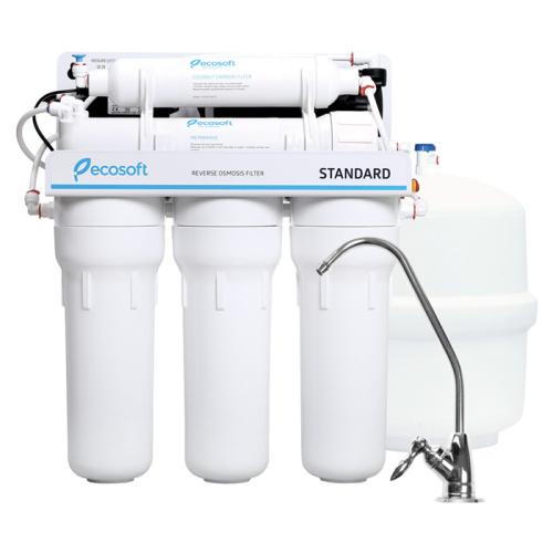 Фильтр обратный осмос Ecosoft Standard с помпой