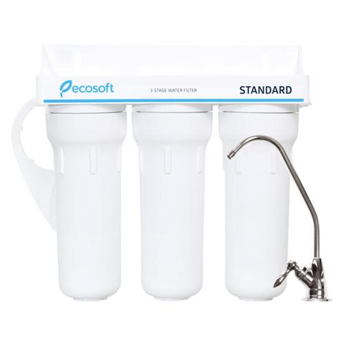 Тройной проточный фильтр Ecosoft Standard