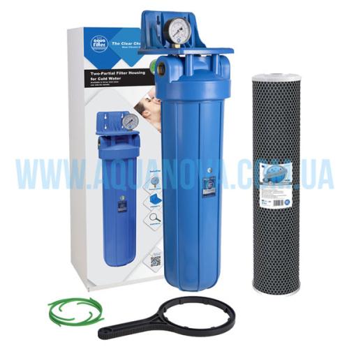 """Угольный фильтр Aquafilter Big Blue 20"""""""