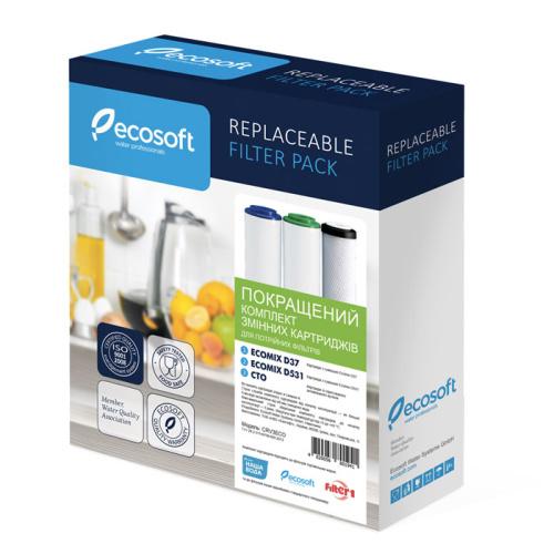 Набор картриджей Ecosoft улучшенный для тройных фильтров